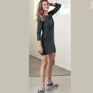 Athleta Salinas Shirt Dress/Tunic Charcoal Gray